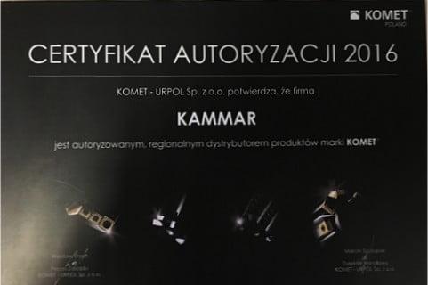 Kammar dystrybutorem firmy KOMET