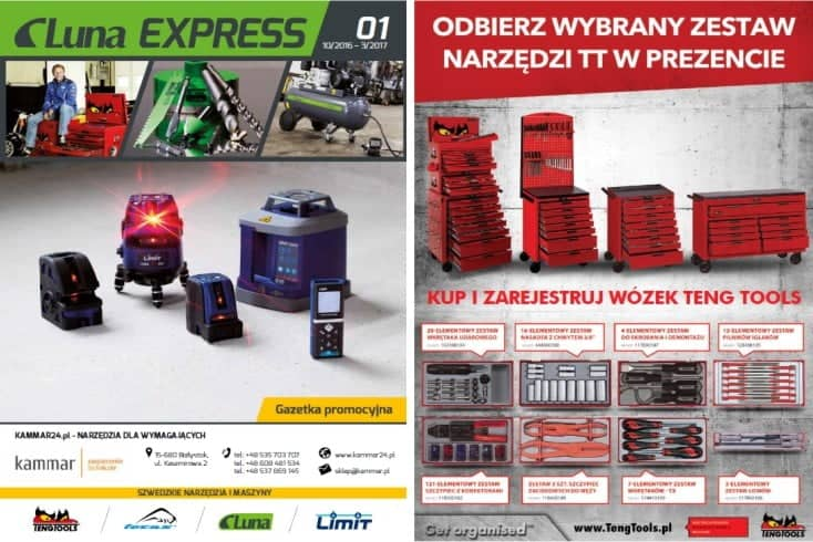 PROMOCJE Luna Express 2016-2017