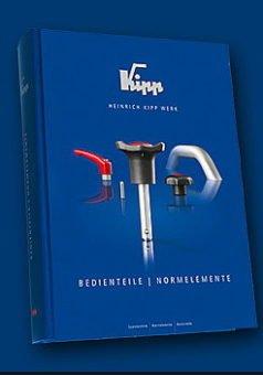 KIPP – elementy manipulacyjne, standardowe elementy maszyn