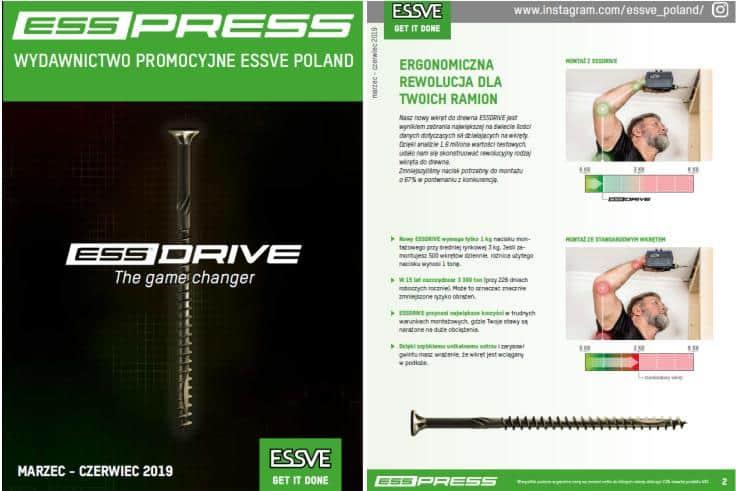PROMOCJE ESSVE ESSPRESS - oferta ważna do 30.03.2019