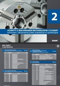 BISON- Uchwyty tokarskie z mocowaniem mechanicznym i cylindry
