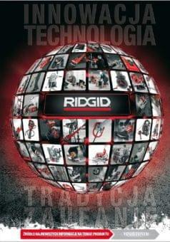 RIDGID - Narzędzia maszyny do obróbki rur