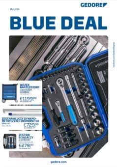 GEDORE Blue Deal - Katalog narzędzia warsztatowe