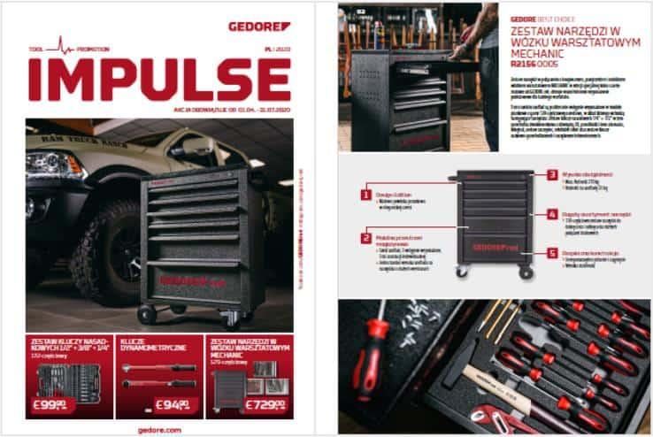 Oferta Specjalna GEDOER Impulse - Narzędzia warsztatowe - oferta ważna do 31.07.2020