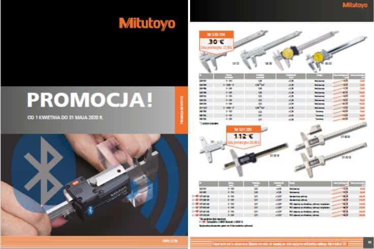 PROMOCJE  Mitutoyo - oferta ważna do 31.05.2020