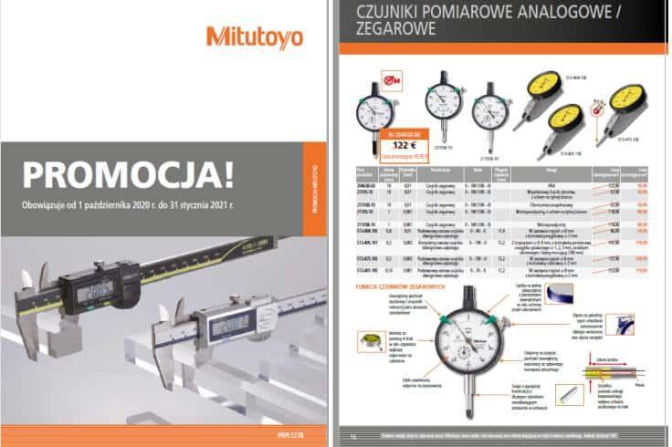 PROMOCJE Narzędzia POMIAROWE Mitutoyo JESIEŃ 2020 - oferta ważna do 31.01.2021