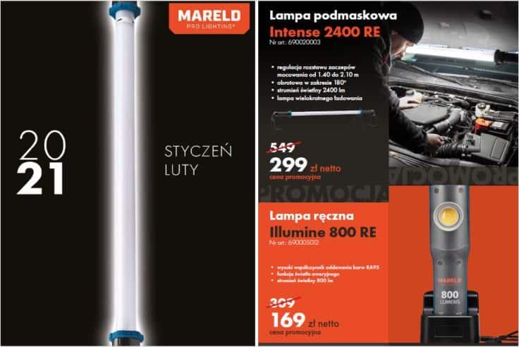 PROMOCJE Oświetlenie robocze MARELD - oferta ważna do 28.02.2021