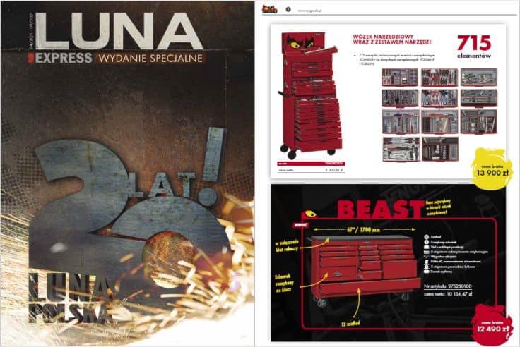 PROMOCJE Wydanie specjalne LUNA EXPRESS - oferta ważna do 30.09.2021